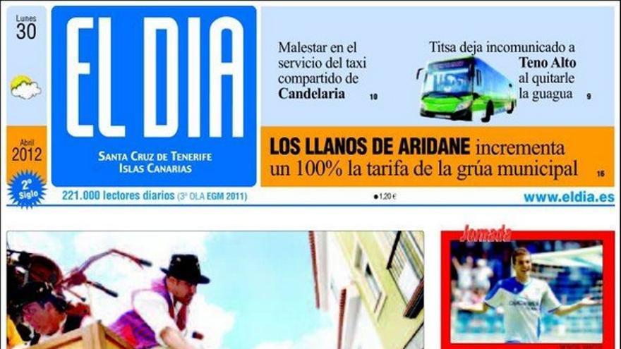 De las portadas del día (30/04/2012) #3