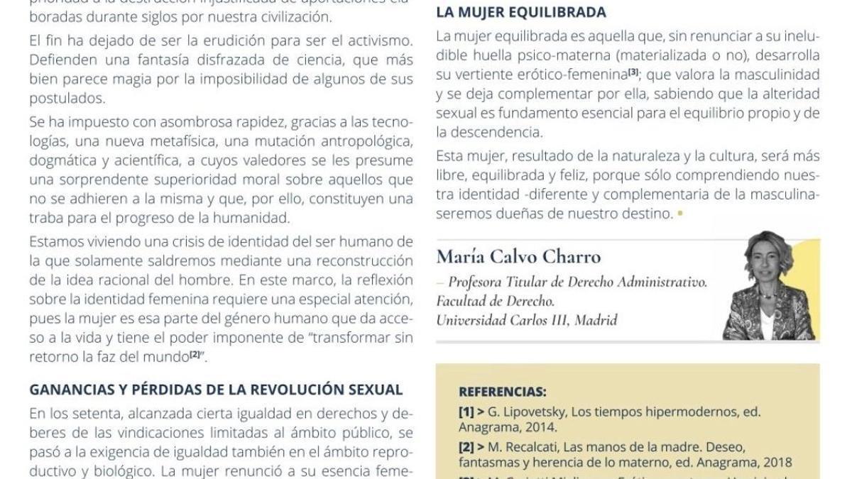 Artículo publicado en la revista del Colegio Oficial de Médicos