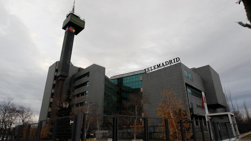 Vista general de instalaciones de Telemadrid en Pozuelo de Alarcón (Madrid). EFE/Javier Lizón/Archivo
