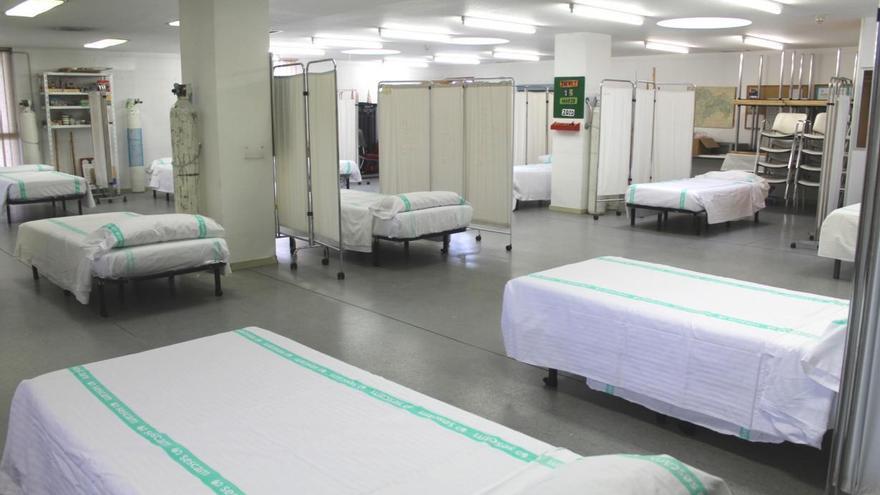 """El Hospital de Guadalajara habilita un área de preingreso """"ante un eventual aumento"""" de casos con coronavirus"""