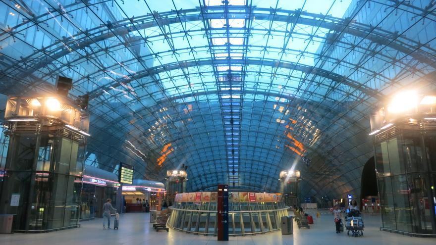 Vestíbulo del aeropuerto de Frankfurt