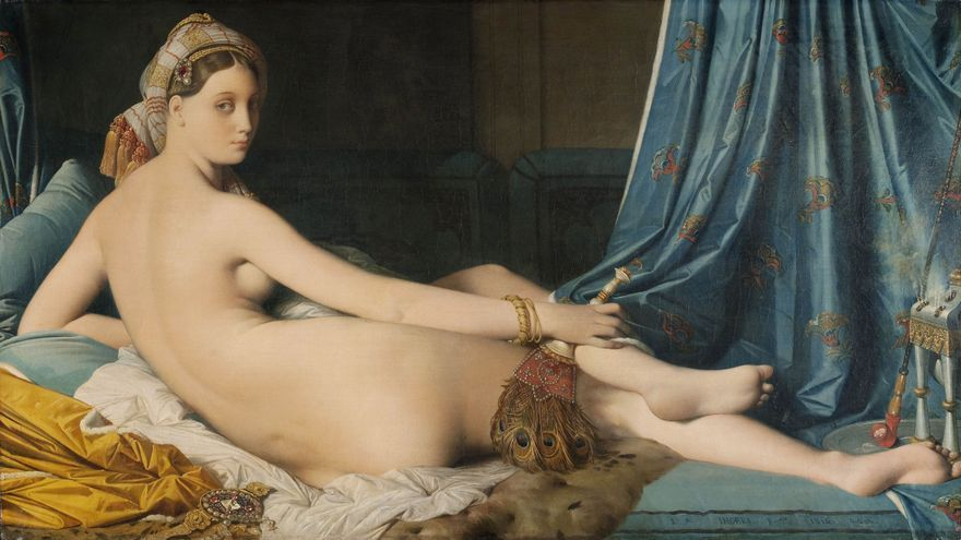 La gran odalisca, de Dominique Ingres