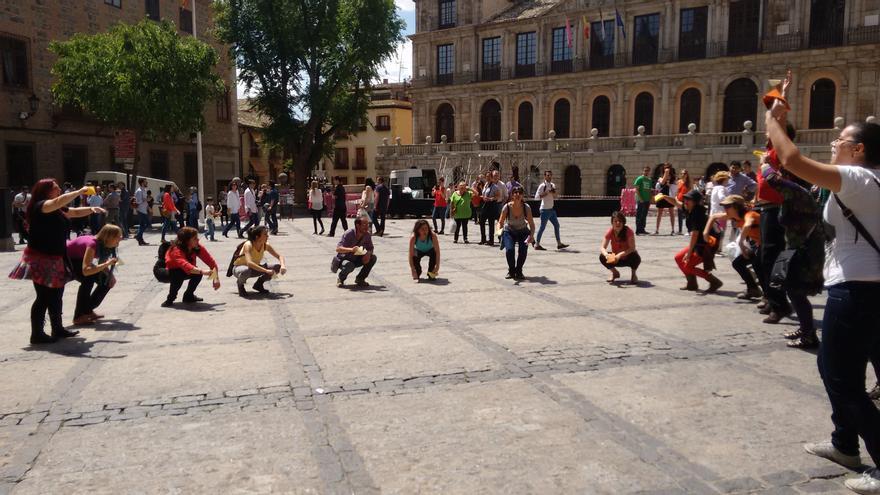 Manifesta-cción en Toledo