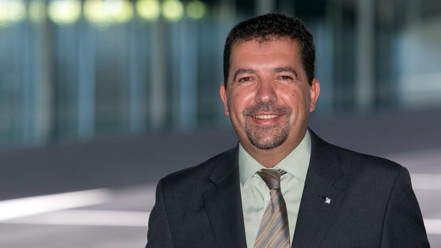 Juan José Cabrera, presidente del Consejo Rector de la Bajada de la Virgen y alcalde de Santa Cruz de La Palma.