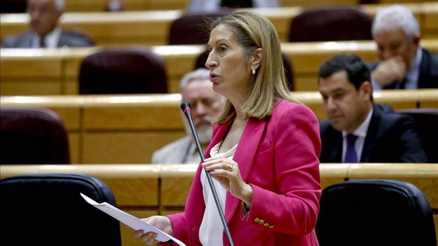 La ministra de Fomento, Ana Pastor. EFE