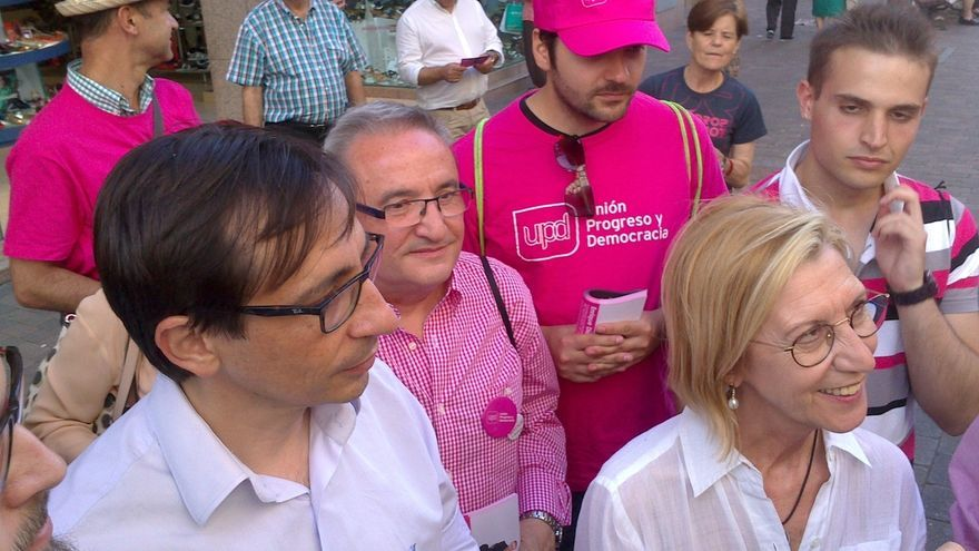 """Rosa Díez: """"UPyD seguirá defendiendo a los españoles del despilfarro y la corrupción"""""""