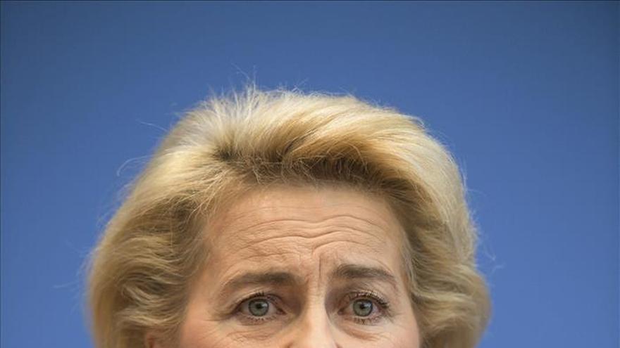 Alemania participará en todos los ámbitos de lucha contra EI