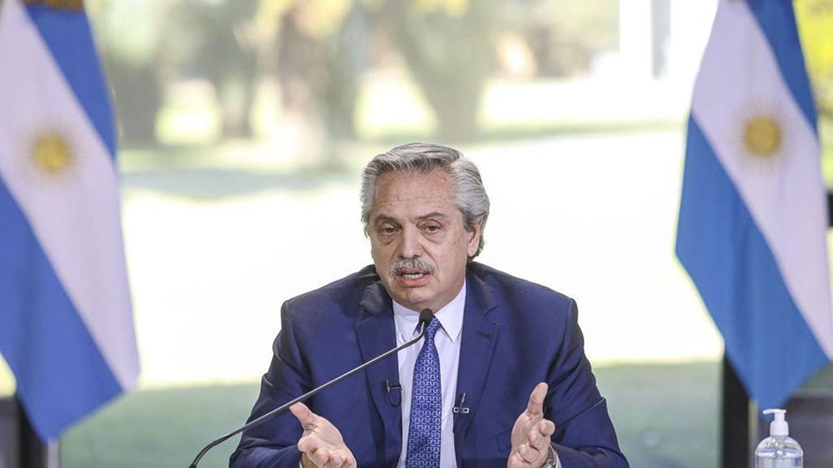 Alberto Fernández volvió a hablar de la polémica sobre sus dichos.