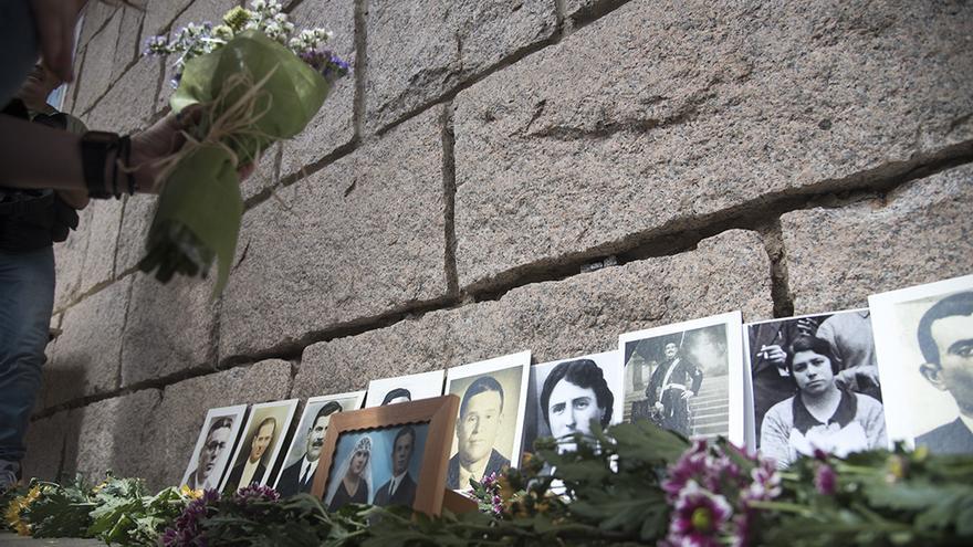 Acto en memoria de las víctimas del franquismo |TONI BLANCO