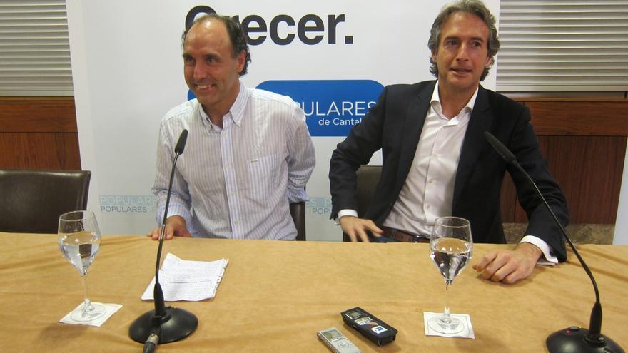 """Diego reivindica a De la Serna como un """"gran político"""" y  tiene """"plena confianza"""" en que seguirá como alcalde"""