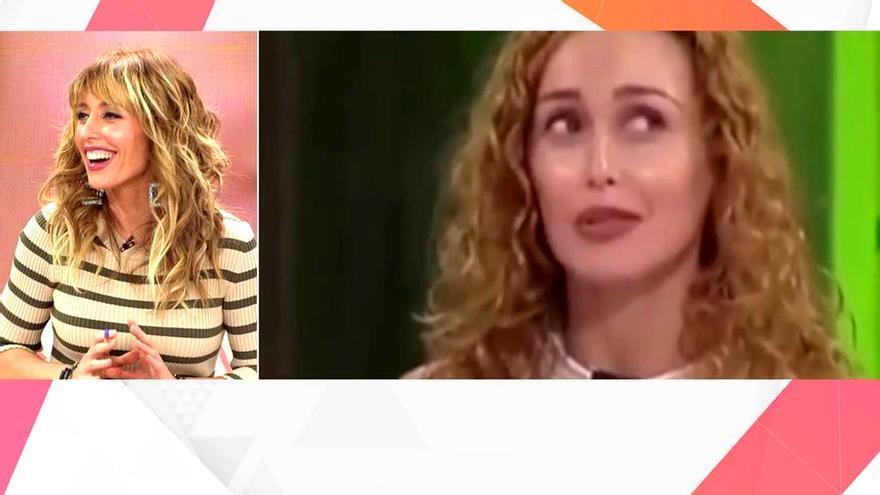 Emma García, viendo las imágenes de su casting para 'A tu lado'