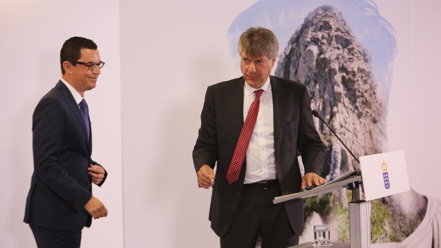 El vicepresidente del Gobierno de Canarias Pablo Rodríguez (ALEJANDRO RAMOS)