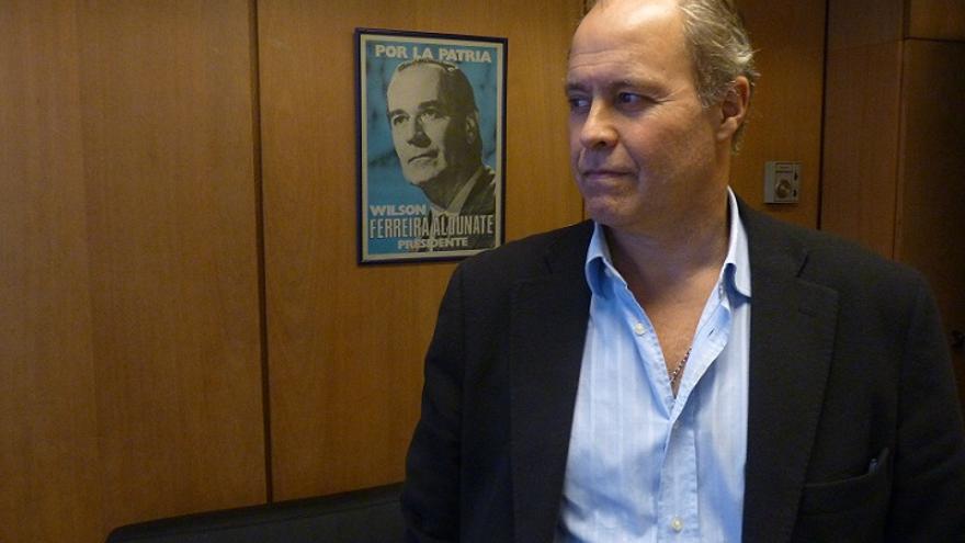 Pablo Iturralde, diputado del Partido Nacional de Uruguay. EFE