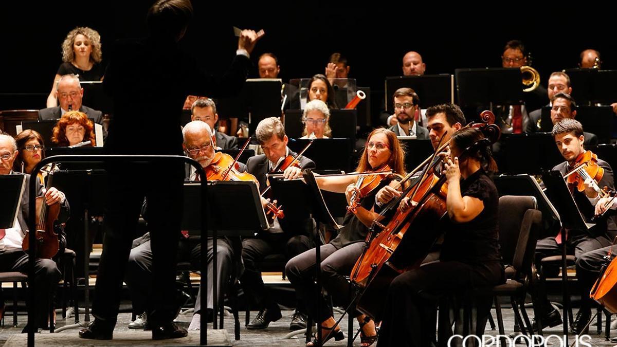 La Orquesta de Córdoba, en una imagen de archivo.