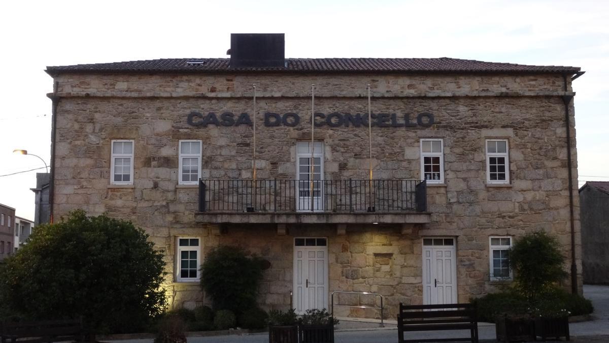 Casa do Concello de Santa Comba (A Coruña)