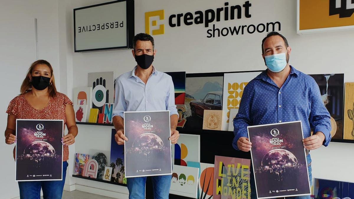 Creaprint se suma a los patrocinadores de la Full Moon Trail Naviera Armas.