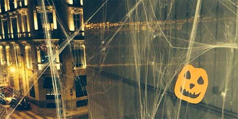 Decoración de Halloween en el Mercado de Barceló | SOMOS MALASAÑA