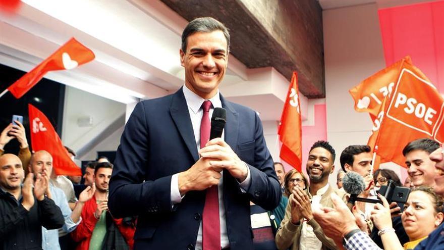 """Los líderes, tras el debate: del """"muy contento"""" Sánchez al """"divertido"""" Rivera"""