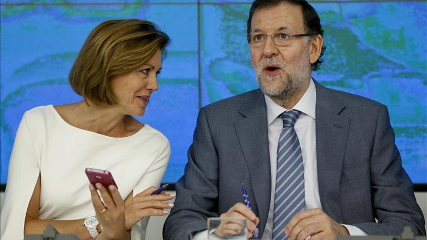 Rajoy analiza hoy con la cúpula del PP los datos económicos y el desafío catalán