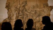 Reproducción de un dibujo de Charles Le Brun (1619-1690), primer pintor de Luix XIV. El original está en Versalles