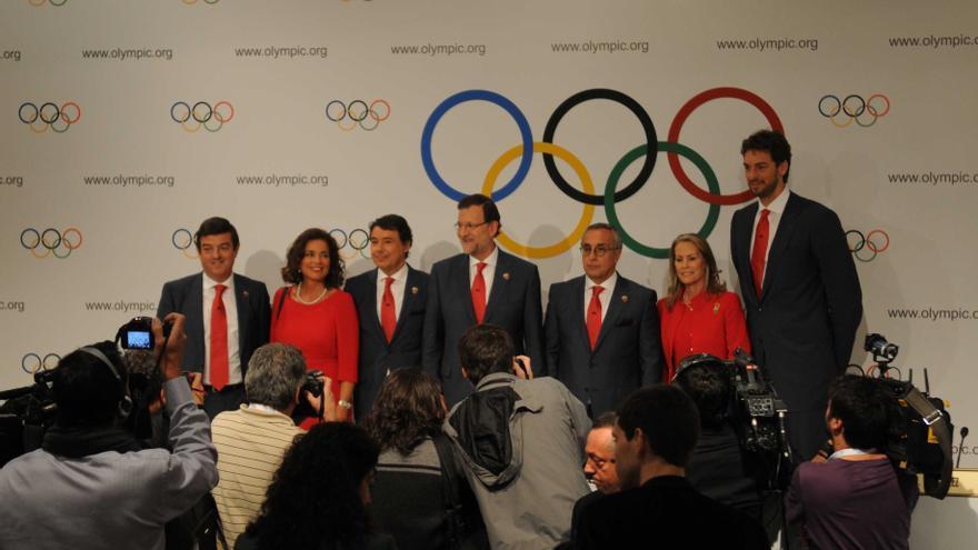 El Gobierno aclara que no tuvo nada que ver con la lista de invitados a la candidatura Madrid 2020 y que no pagó un euro