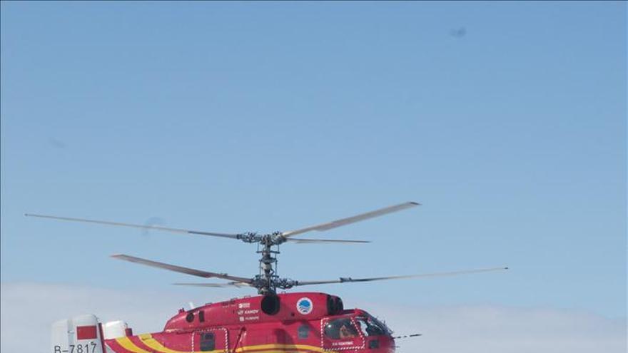 El presidente chino felicita a tripulación de rompehielos por rescate Antártida