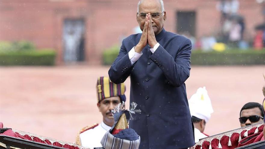 """El """"intocable"""" Ram Nath Kovind asume como nuevo presidente de India"""