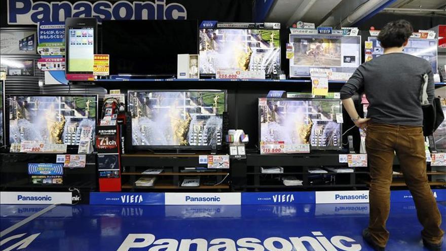 Panasonic pierde 5.725 millones de euros en 2012, un 2,31 por ciento menos