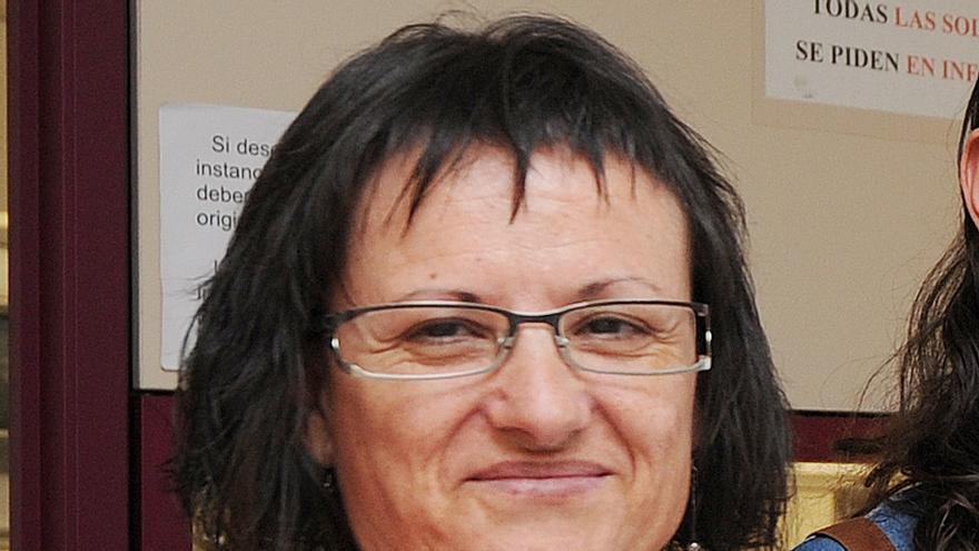 Ana Moreno, presidenta de la Asociación de Vecinos del barrio de Gamonal. Israel L. Murillo.