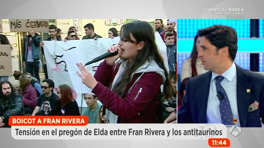 Polémicas declaraciones de Fran Rivera en Antena 3 sobre higiene y antitaurinos