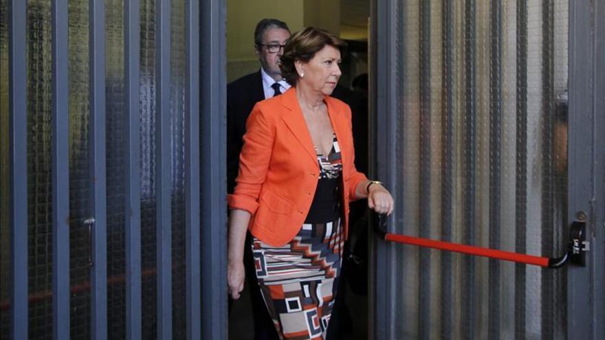 La exministra Álvarez declara este jueves por segunda vez ante la jueza Alaya como imputada / EFE.