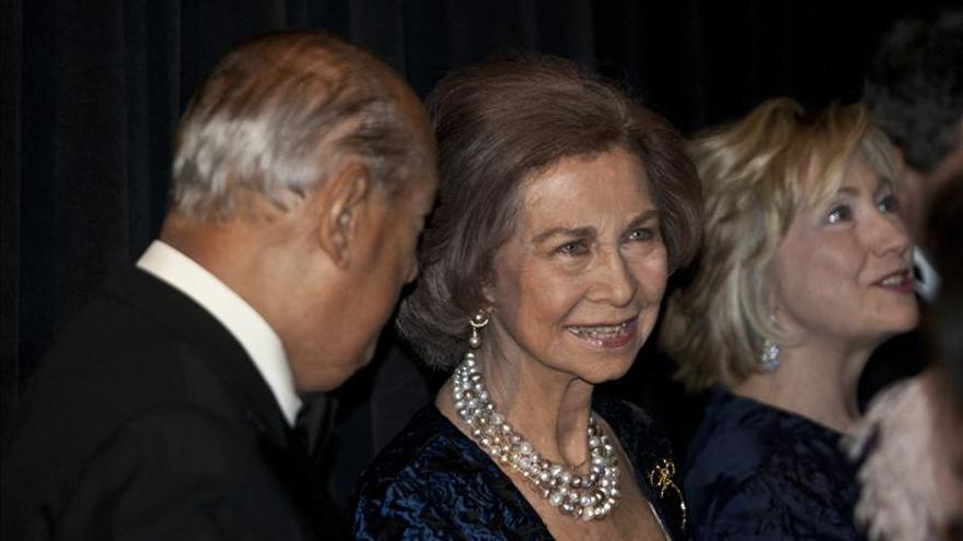 Instituto Reina Sofía de N.York entrega sus medallas a Antonio Banderas y Hillary Clinton
