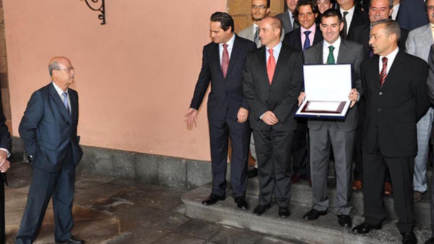 De la entrega del Premio Nacional de Comercio Interior a La Laguna #6
