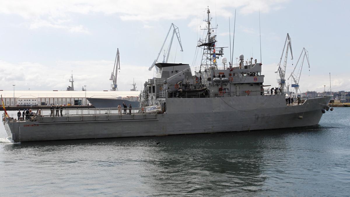El patrullero de la armada española Centinela. EFE