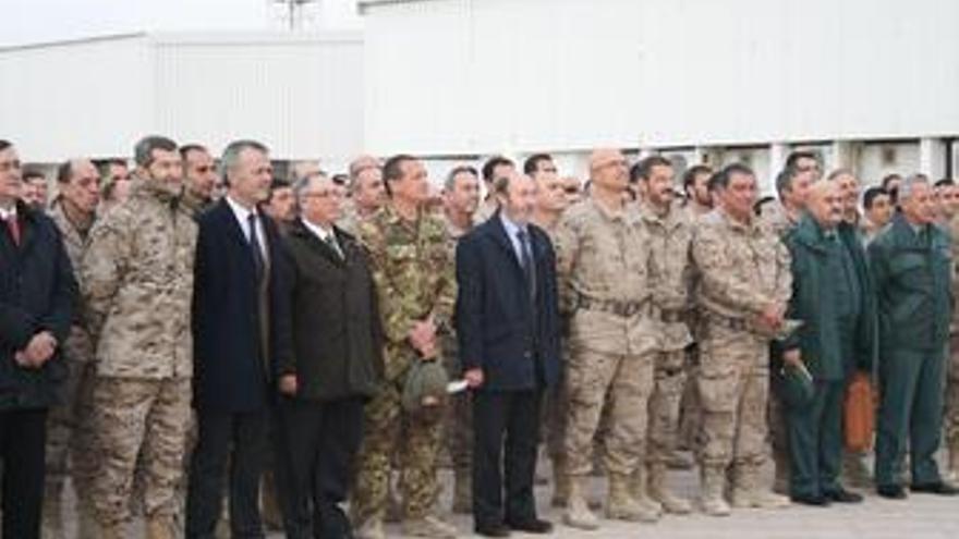 Pérez Rubalcaba en Afganistán
