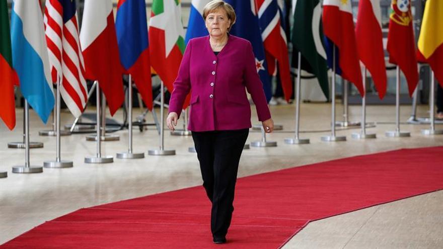 """Merkel condena """"de la manera más drástica"""" la """"muerte violenta"""" de Khashoggi"""
