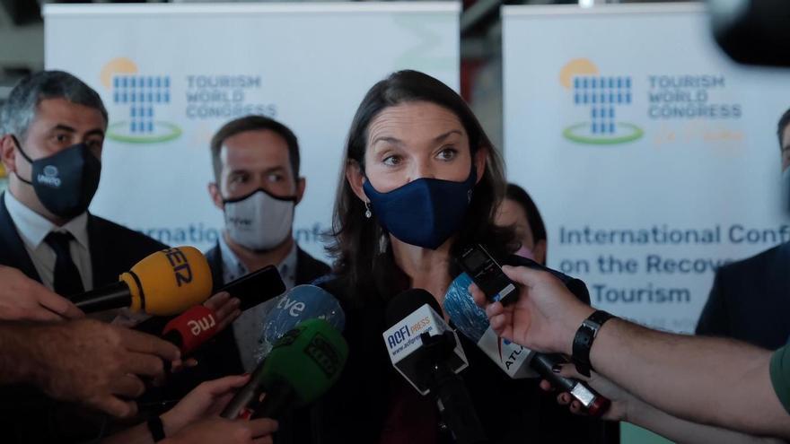 """""""Desde La Palma queremos trasladar al mundo que se puede viajar con seguridad"""""""