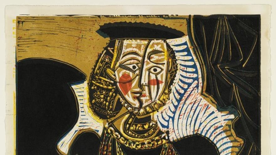 Retrato de una mujer después de Lucas Cranach / MPM