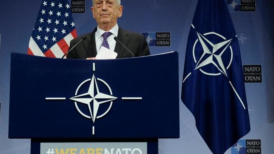Mattis subraya que la defensa común es competencia exclusiva de la OTAN