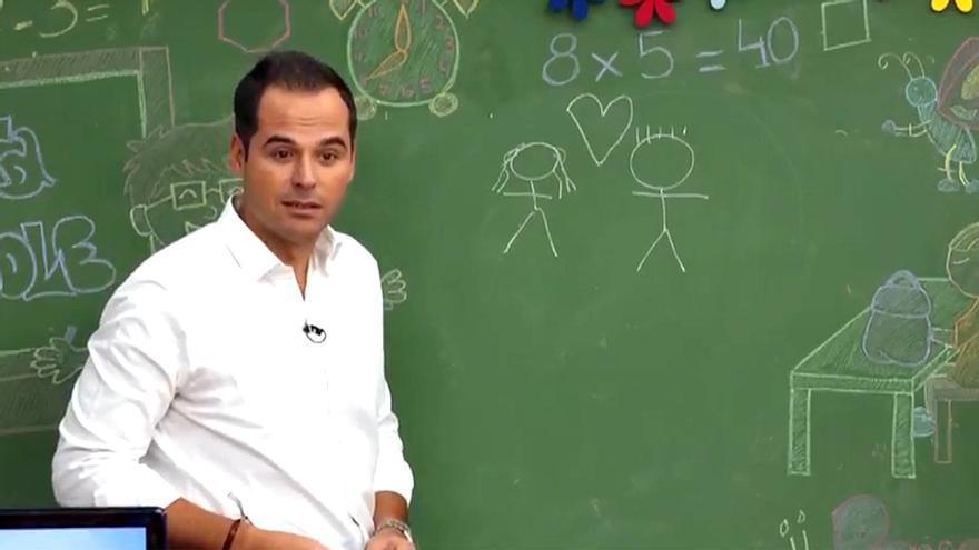 Ignacio Aguado en Telemadrid