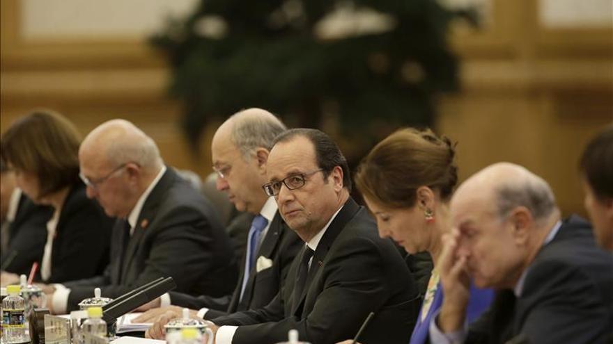 La declaración de Hollande y Xi abre la vía para un acuerdo sobre el clima