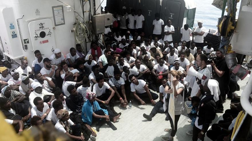 El Gobierno balear calcula que los migrantes del Aquarius que sean acogidos en las islas llegarán en cuatro semanas