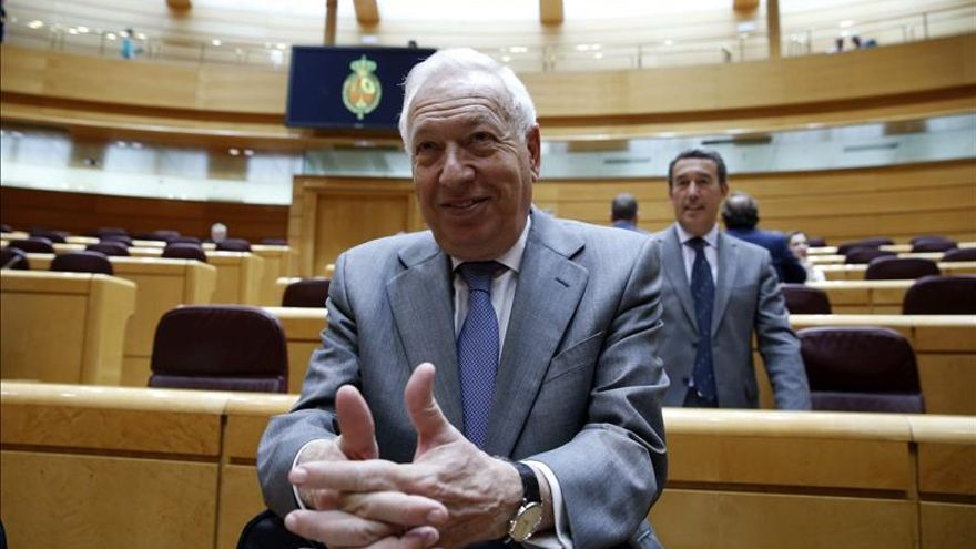 Margallo asegura Gobierno seguirá trabajando para facilitar voto en exterior