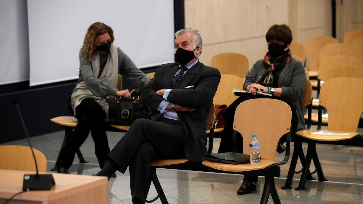 El extesorero del PP Luis Bárcenas (C). EFE/Juan Carlos Hidalgo/Archivo