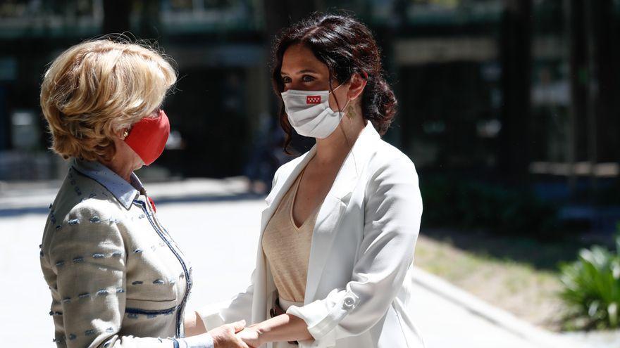 Esperanza Aguirre junto a Isabel Díaz Ayuso