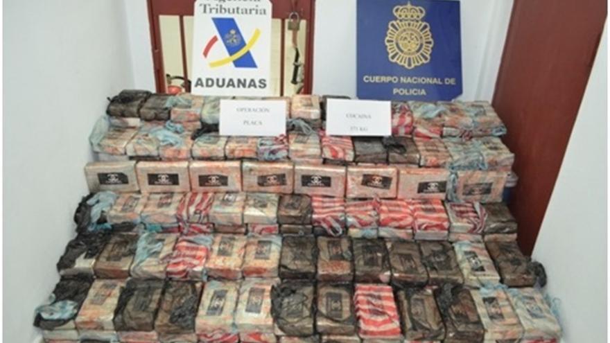 Alijo de droga del velero interceptado en aguas de Tenerife