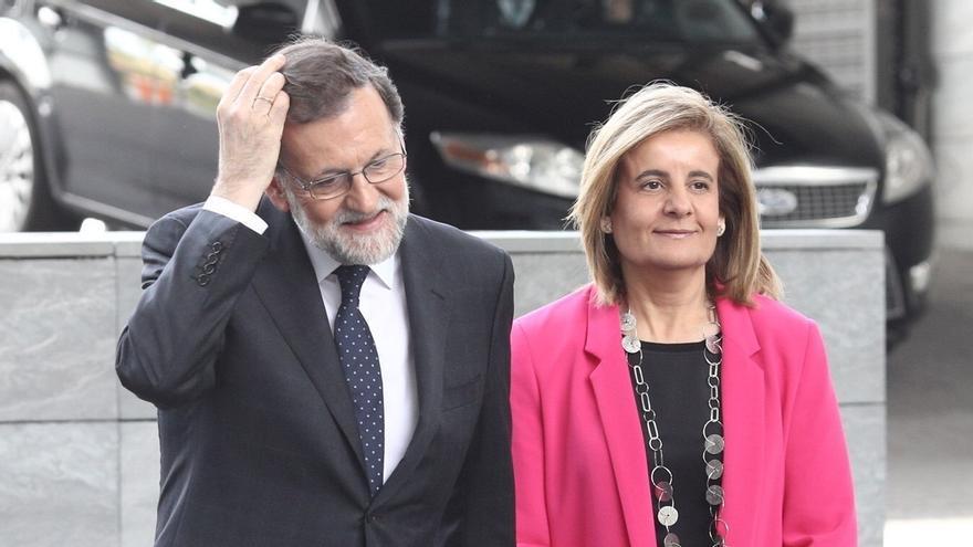 Unidos Podemos apela a PSOE y Cs para forzar un pleno monográfico del Congreso sobre pensiones, con Rajoy y Báñez