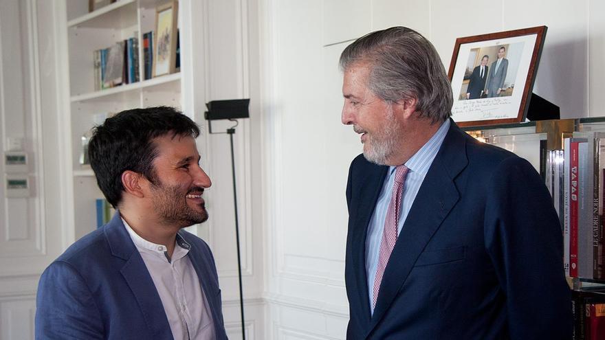 Vicent Marzà ha visitado al ministro Íñigo Méndez de Vigo