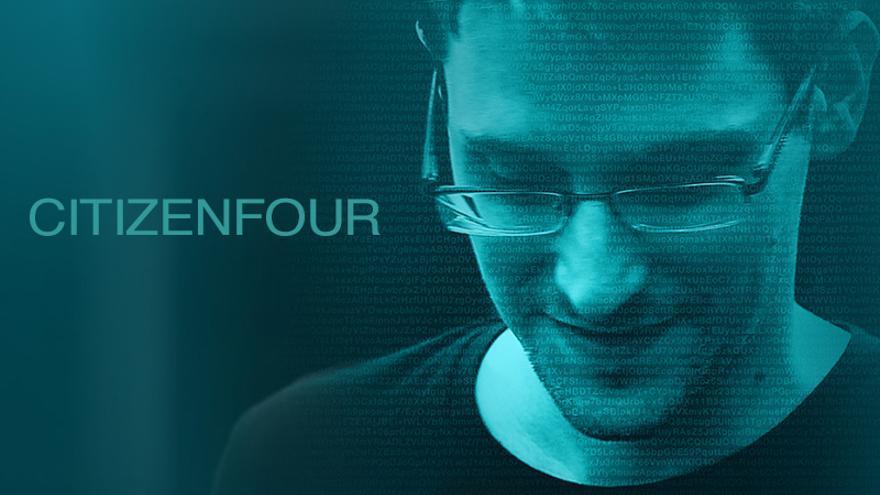 Cartel oficial del documental 'Citizenfour'