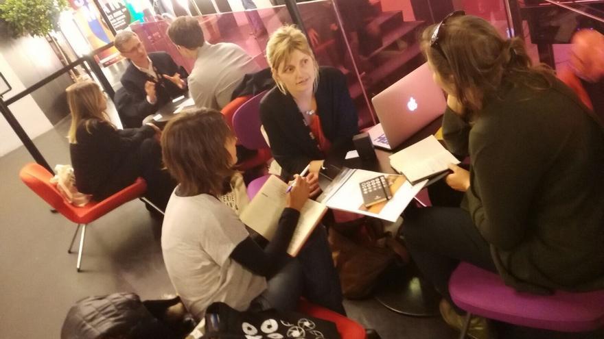 Encuentro de la Gran Canaria Film Commission con productoras de televisión europeas
